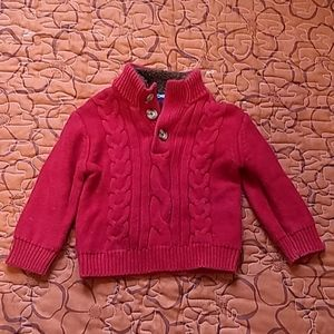 Cherokee Boys Red Sweater